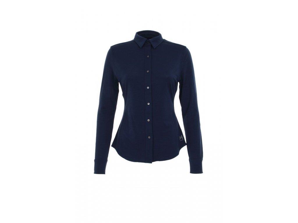 Dámská košile s dlouhým rukávem LS Button 175  sn  - ocean deep ... e35295dce3