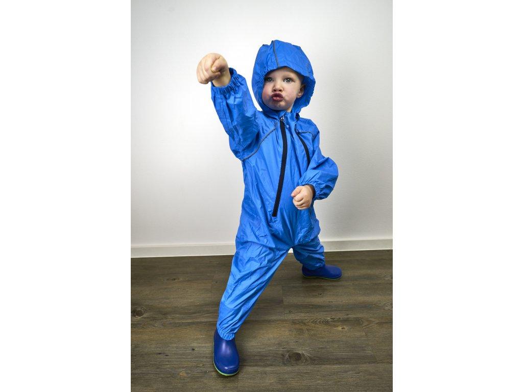 Dětský sbalitelný nepromokavý overal MAC Kid - blue