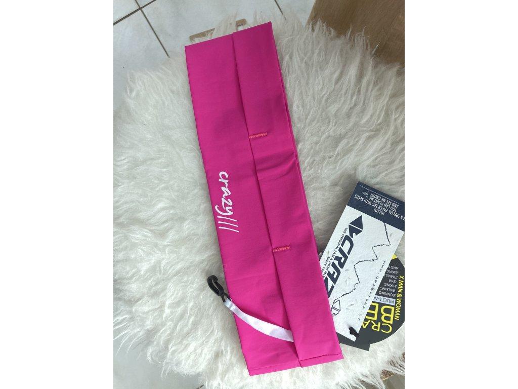 Běžecký pás Crazy fast belt - růžová