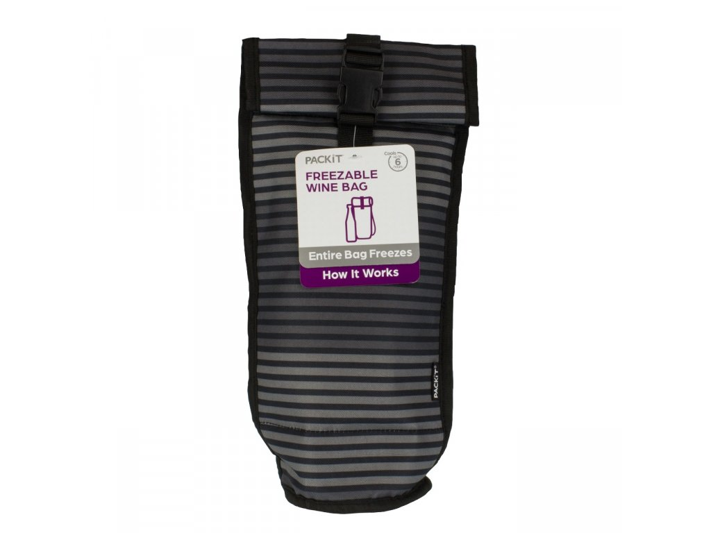Packit 2016 Wine Gray Stripe Packaging hires