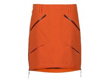 Membránová zimní sukně Supreme THERMIUM™ Short SKHOOP - oranžová