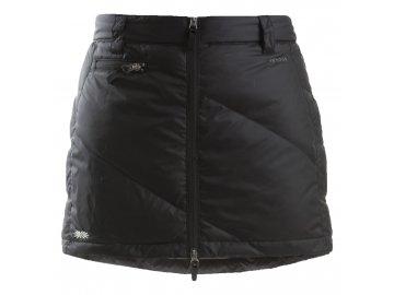 Zimní sukně péřová Mini Down SKHOOP - černá