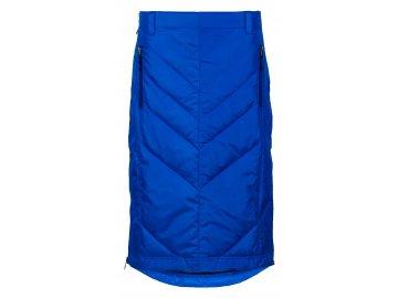 Zimní péřová sukně přes kalhoty Mina Mid Down SKHOOP - modrá