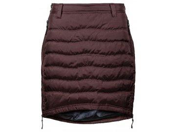 Zimní sukně péřová Short Down SKHOOP - pražená káva