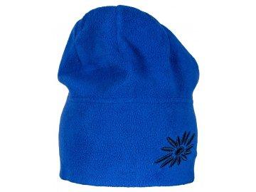 Zimní fleecová čepice SKHOOP - modrá