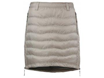 Zimní sukně péřová Short Down SKHOOP - sand