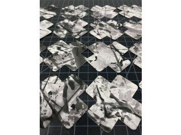 Black White Patch cutting board