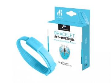 Image Bracelet anti moustiques Bleu Pack