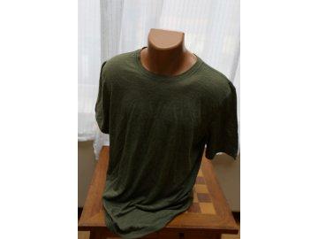 pánské merino tričko M Base 140 leaf melange / vel. L