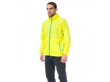 mac in a sac neon waterproof packaway jacket neon yellow front grande