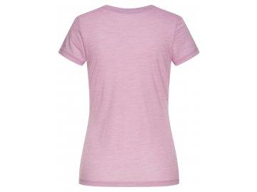 Dámské tričko Base Tee 140 [sn] - Dawn Pink Melange