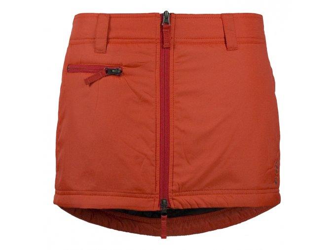 Zimní mini sukně Mini SKHOOP - spicy orange