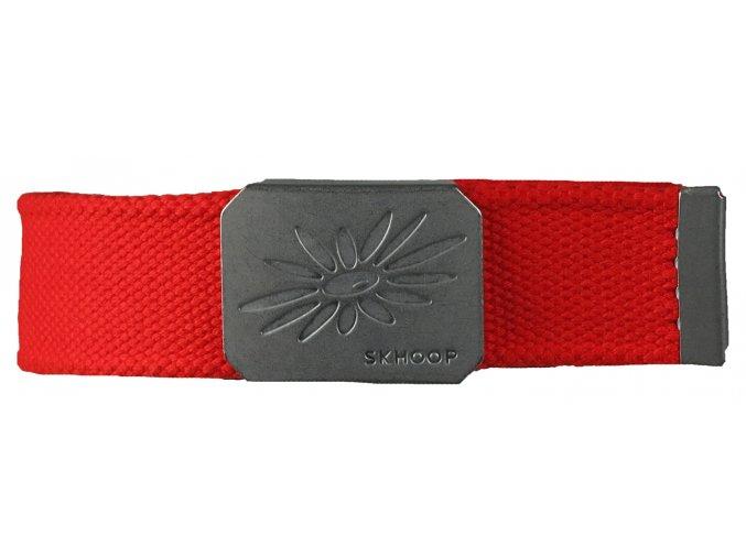 Pásek s kovovou přezkou SKHOOP Belt - spicy orange