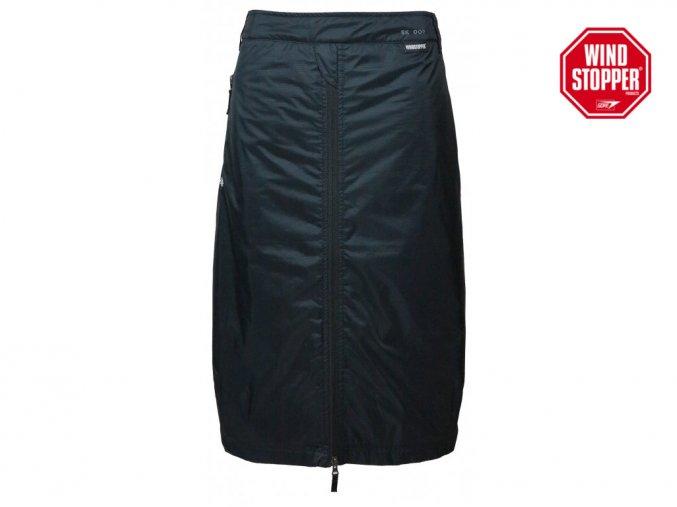 Unisexová zimní WINDSTOPPER® sukně Rider SKHOOP - černá