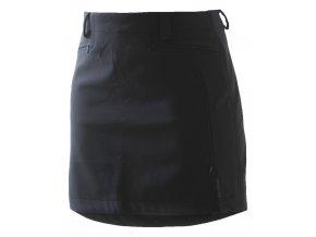 Zimní softshellová sukně Adventure Short SKHOOP - černá