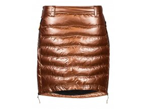 Zimní sukně péřová Short Down SKHOOP - měděná