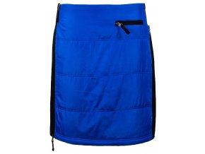Zimní neprofoukavá sukně Greta knee WINDSTOPPER® SKHOOP - modrá