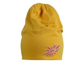 Funkční čepice Jersey Beanie SKHOOP - zlatá