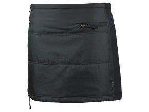 Funkční zimní mini sukně Katarina SKHOOP - černá