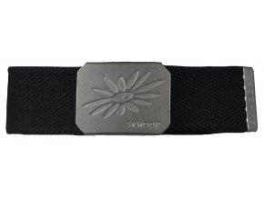 Pásek s kovovou přezkou SKHOOP Belt - black