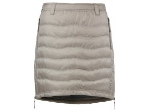 Zimní sukně péřová Short Down SKHOOP - písková