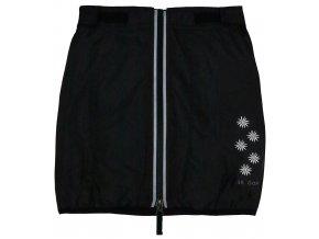 Dětská zimní sukně Milla SKHOOP - černá