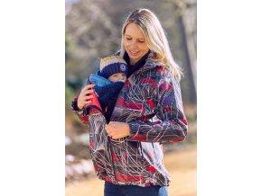 Nosicí bunda Gemini, nošení dítěte na břiše i na zádech