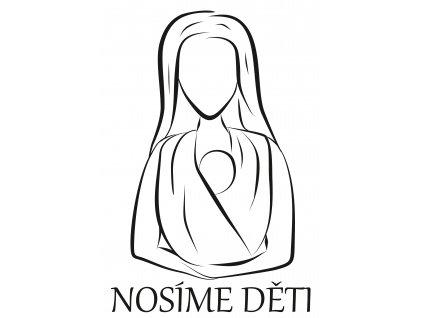 Logo ND černé s nadpisem bílé pozadí
