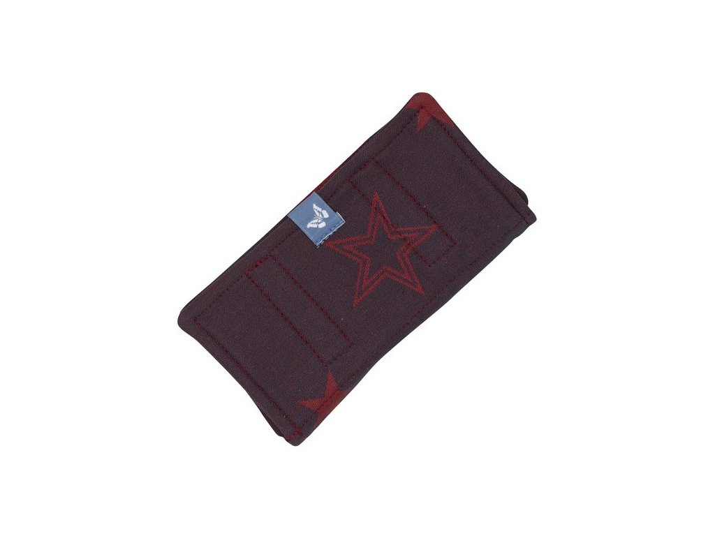 suck pad for baby carriers classic outer space ruby red