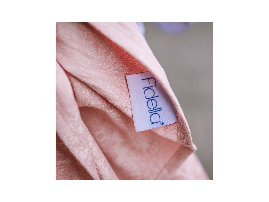 Šátek na nošení dětí Fidella - Iced Butterfly Pale Pink