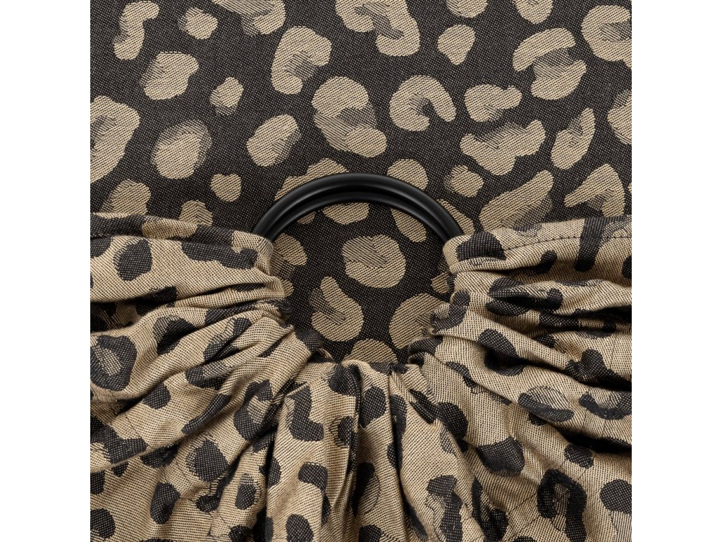 fidella ring sling leopard gold 1