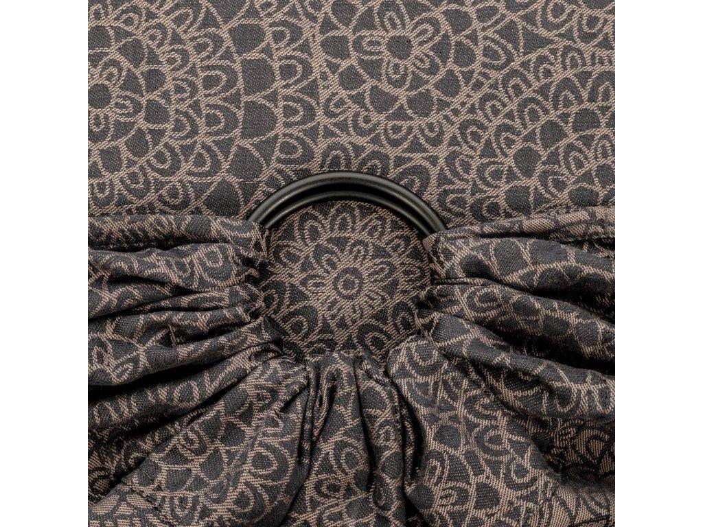 ring sling mosaic mocha brown
