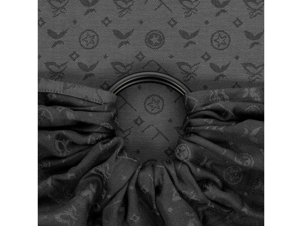 ring sling saint tropez charming black