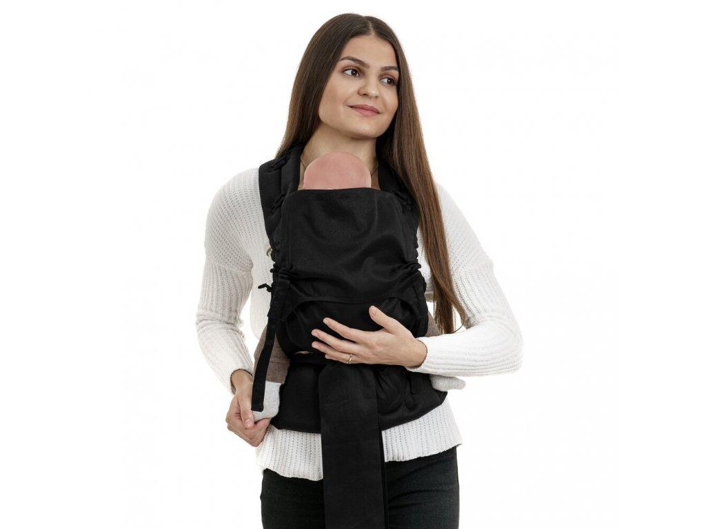 Ergonomické rostoucí nosítko Fidella FlowClick Baby - Chevron Black