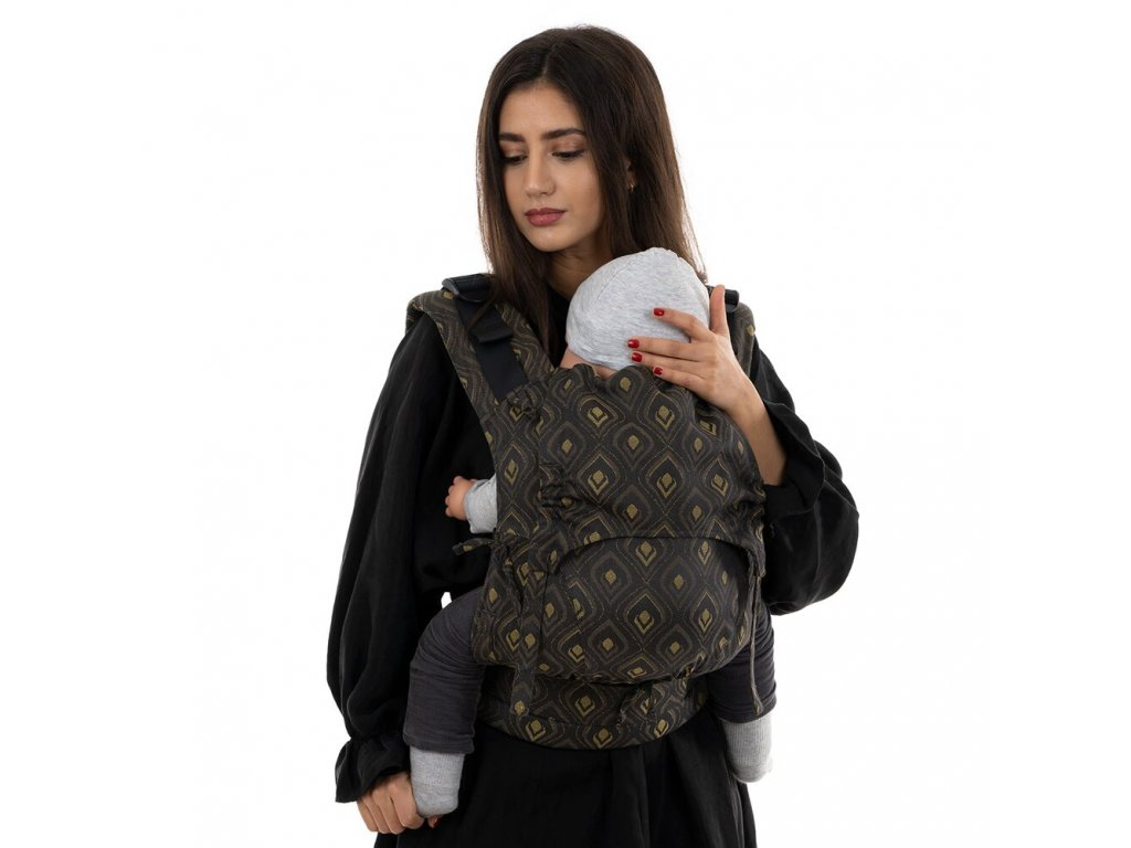 fusion v2 fullbuckle baby carrier peacock midnight gold toddler