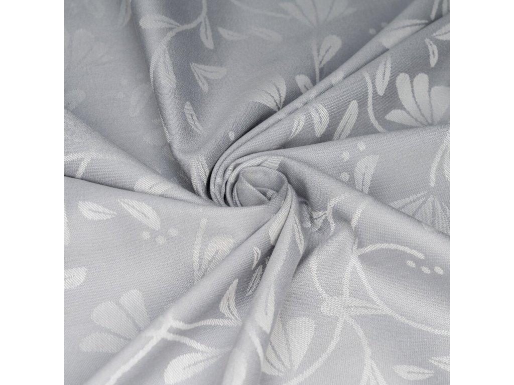 baby wrap floral touch lunar grey size 6 460 cm 4
