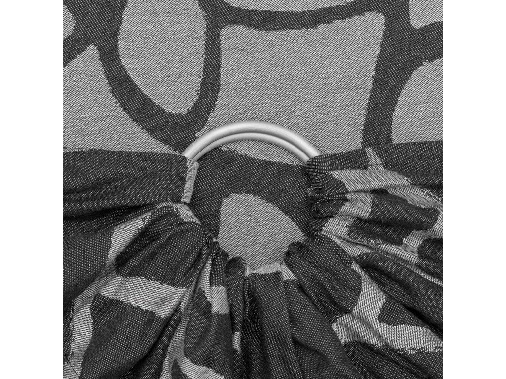 ring sling giraffe anthracite