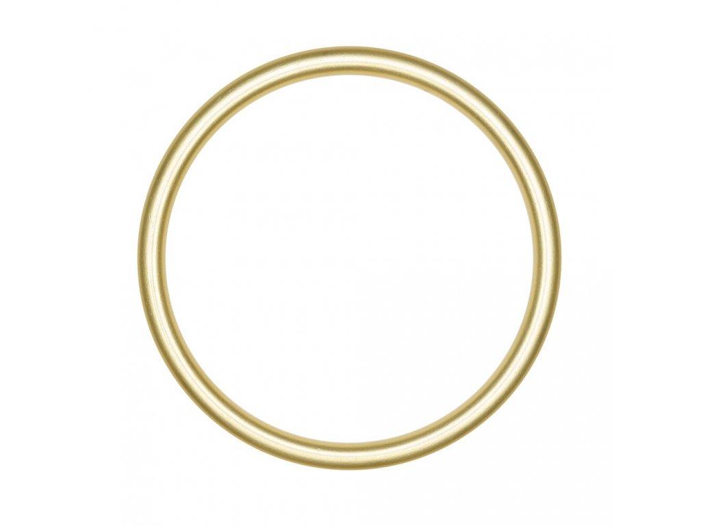 Ring sling kroužky velikost L zlatá