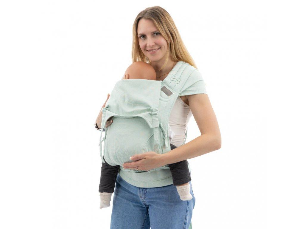 Ergonomické rostoucí nosítko Fidella FlyClick Toddler Plus - Masala Blue Lagoon