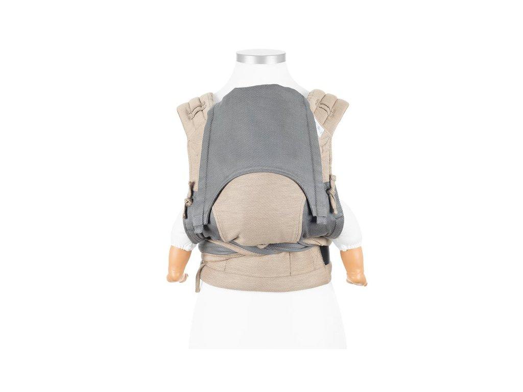 ergonomické nosítko fidella flyclick baby carrier classic lines beige