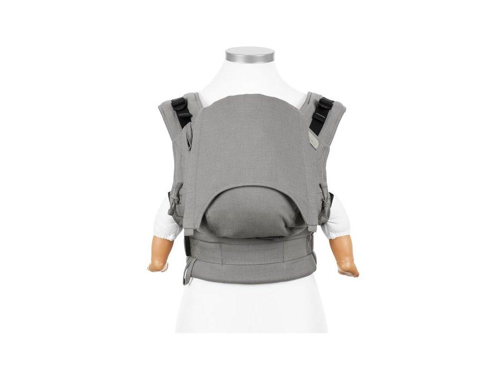 Ergonomické rostoucí nosítko Fidella Fusion BABY SIZE - Chevron Light Grey