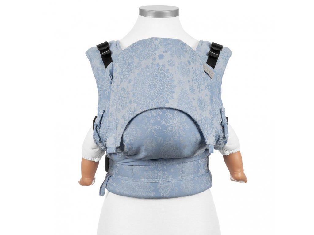 Ergonomické rostoucí nosítko Fidella Fusion BABY SIZE - Iced Butterfly Light Blue