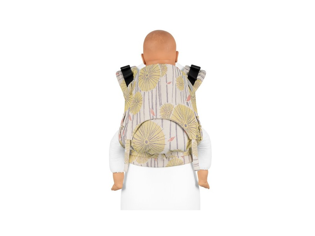 fusion v2 fullbuckle baby carrier tokyo yellow toddler