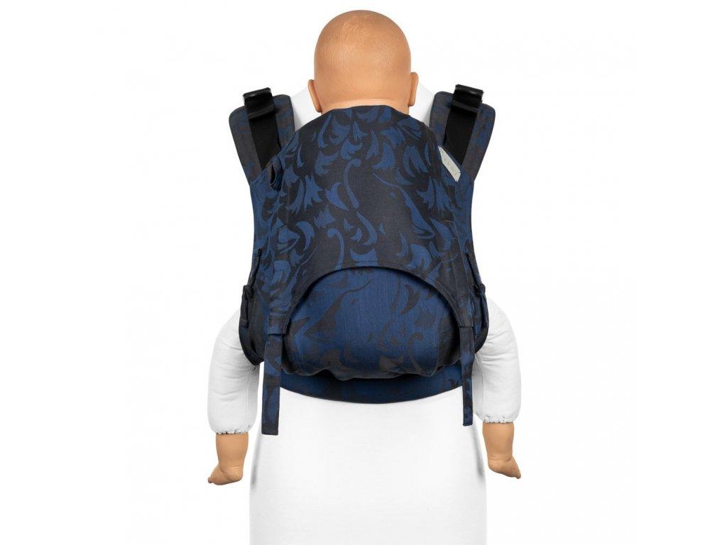 Ergonomické nosítko Fidella Fusion Toddler 2.0 Wolf Royal Blue full buckle