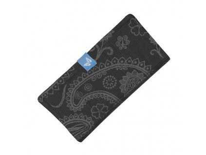 fidella suck pad for baby carriers classic persian paisley charming black