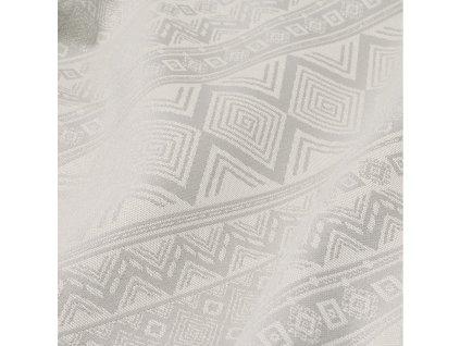 fidella baby wrap classic cubic lines pale grey 460 cm size 6 10