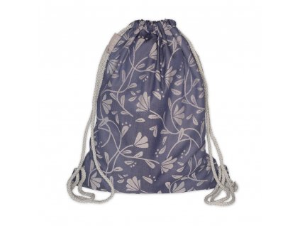 daybag floral touch eclipse blau