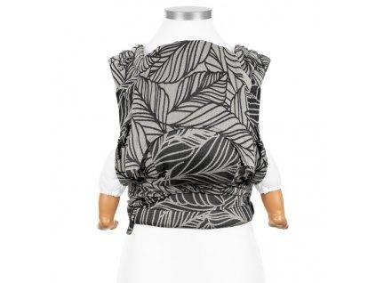 Ergonomické rostoucí nosítko Fidella FlyClick Toddler Plus - Dancing Leaves Black & White