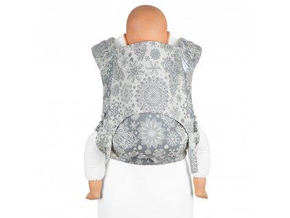 ergonomické nosítko fidella flyclick plus baby carrier classic iced butterfly smoke