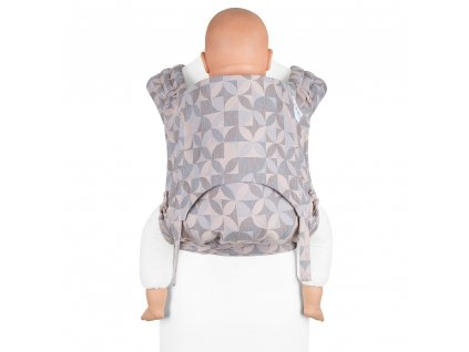 ergonomické nosítko fidella flyclick plus baby carrier classic kaleidoscope sand